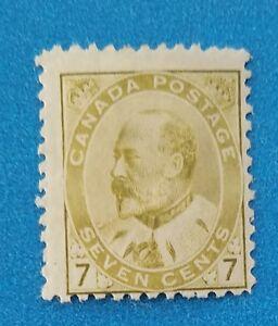 Canada stamp Scott #92 MH. Good original gum, nice crisp color.