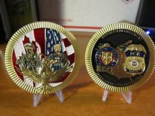 Border Enforcement Toronto Police TPS & ICE Interagency Police Challenge Coin