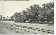 Merced CA Southern Pacific Depot Postcard c1908