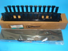 """1 New Panduit Wmphf2E, Patchlink Horizontal Cable Manager, 19"""" Front 2Ru"""