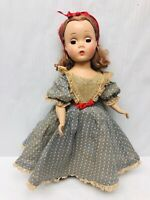 "Vintage Madame Alexander Little Women BETH 1950's 14"" Doll Rare Collectible"