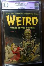 WEIRD TALES of the FUTURE #3  CGC 3.5 (R)  Classic Wolverton Cover!