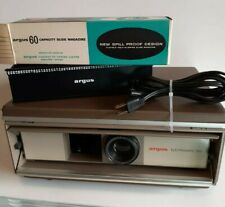 Argus Electromatic 560 Slide Projector (Needs Bulb) TESTED slide tray power cord