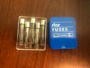 Star 20 Amp Glass Buss Fuse X4 Packs Of 5