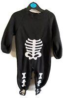 Rubies Little Skeleton Costume Infant Size 0-6M Infant Halloween Dress Up