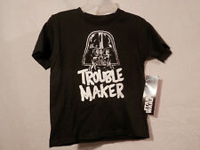 Star Wars Darth Vadar Trouble Maker  T-Shirt  3T