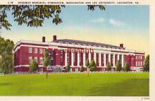 DOREMUS MEMORIAL GYMNASIUM, WASHINGTON AND LEE UNIVERSITY, LEXINGTON, VA
