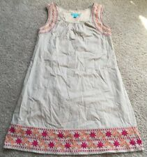 CALYPSO St. BARTH For Target Women's Sleeveless Shift Dress Size XS Beige EUC!