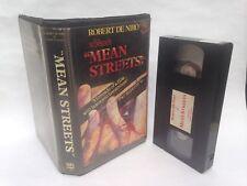 PRE CERT MEAN STREETS BOOLA BULA VIDEO VHS BIG BOX EX RENTAL