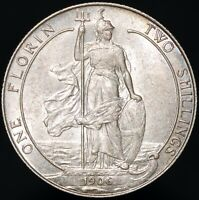 1906 Edward VII Silver One Florin/Two Shillings | British Coins | PenniesPounds