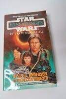 Vintage Star Wars Young Jedi Knights Return to Ord Mantell Paperback Novel 1998