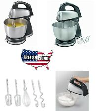Classic Stand Mixer 6 Speed Hamilton Beach Kitchen Cooking Dough Bread Cake NEW