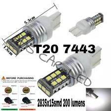 FORD Ranger reverse lights LED 7440 T20 2835SMD CANBUS E/F white bulbs globes