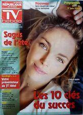 TV HEBDO 2006: CLAIRE KEIM Les sagas de l'été__NAGUI_MAGLOIRE_THIERRY GILARDI