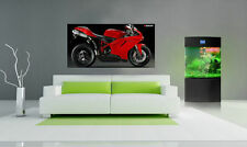 "DUCATI 848 EVO MOTORCYCLE BIKE LARGE POSTER 24""x48"""