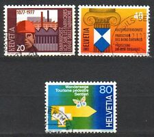 Switzerland - 1977 Events (II) Mi. 1109-11 FU