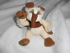 "Fisher Price Mattel 2006 Big Holding Plush 5"" Cream Brown Anteater Ant Eater"
