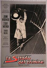 Fotobusta LA STRADA DEL CRIMINE 1964 RARA!! JOANNE WOODWARD, STUART WHITMAN