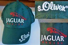 NUOVO mai indossato JAGUAR RACING TEAM F1 FORMULA 1 S Oliver in rilievo Baseball Cap Verde