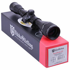 Nikko MOUNTMASTER 6x40 PX AO Rifle Scope + MOUNTS Mil Dot Sight Riflescope