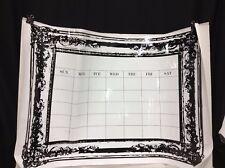 Pottery Barn Teen PBT Vintage Border Frame Dry Erase Wall Decal Calendar Sticker