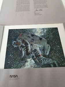 """Selections From The NASA Art Collection X 12 Prints From Nasa 11""""x14"""""""