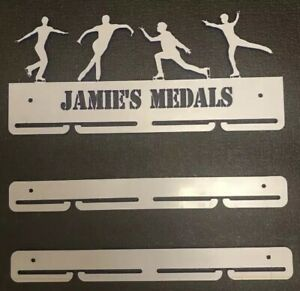 Thick 5mm Male Ice skating WITH 2 EXTRA RAILS Medal Hanger (90cm in total)