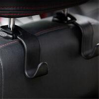 Universal Car Auto Back Seat Hook Hanger Bag Coat Purse Organizer Holder Black U