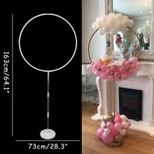 Circle Balloon Arch Frame Balloons Stand Holder Kit Wedding Birthday Party Decor