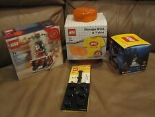 LEGO 40223 CHRISTMAS Snow Globe Limited Edition + LEGO Storage,T Shirt & MORE.