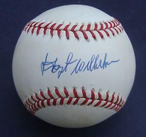 HOYT WILHELM   Signed  Baseball NL  Autographed  COA