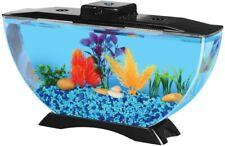 Superior 1 Gallon Betta Deco Multiple Light Beautiful Fish Tank & LED Lighting