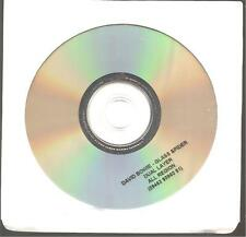 "DAVID BOWIE ""Glass Spider"" PROMO DVD RARE"