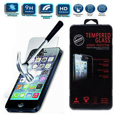 Genuine Real Tempered Glass Explosion Proof Screen Cover Protector For IPhone 5S