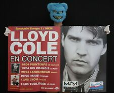 LLOYD COLE - Affiche originale concerts France 1996 - Poster 119 x 79 cm