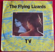 """The Flying Lizards~TV / Tube [Pic Sleeve; 7""""@45] 1980"""