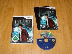 Wii Spiel Harry Potter und der Halbblutprinz