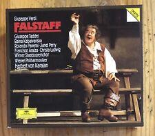 Falstaff Verdi Herbert von Karajan Guiseppe Taddei Deutsche Grammophon 2 CD Set