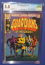 Marvel Super-Heroes #18 Comic Book CGC 5.0 1st Appearance Guardians Galaxy 1969
