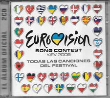 "RARO 2 CD SPAGNA "" EUROVISION SONG CONTEST  KIEV 2015 """