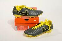 Nike Tiempo Legend 7 Pro FG Soccer Cleats Men's Size 8 Grey Yellow AH7241 070