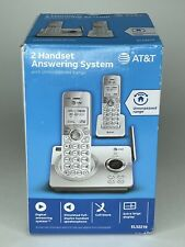 AT&T 2 Handset Phone Answering System EL52219 New in Box