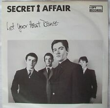 "Secret Affair- Let Your Heart Dance & Sorry Wrong No- I-Spy Records 7"" MOD Vinyl"