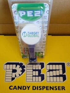 """PEZ EURO PROMO """"TARGET GLOBAL"""" VERY HARD TO FIND*LIMITED*MINT ON CARD!"""