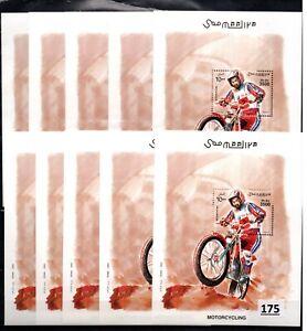 /// 10X SOMALIA - MNH - SPORTS - MOTORCYCLING - 2003 - WHOLESALE
