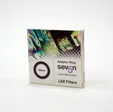 Lee Filters siete 5 55mm Adaptador Anillo. a estrenar. Lee filters/Hecho en Inglaterra
