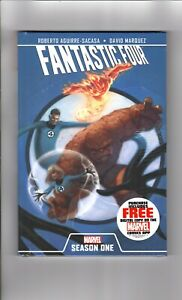 FANTASTIC FOUR, SEASON ONE, Marvel Comics, Hard Cover, SEALED (CC2)
