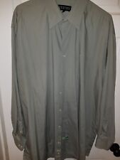 Bergamo New York Mens Long Sleeve Dress Shirt Size 2XLT