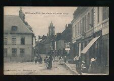France Pas-de-Calais AIRE-sur-la-LYS  la Place du Rivage c1900/10s? PPC