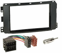 Kit mascherina adattatore autoradio 2 DIN per Smart Car ForTwo 2007 - 2010